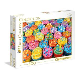 Clementoni Colorful Cupcakes 500 bitar 35057