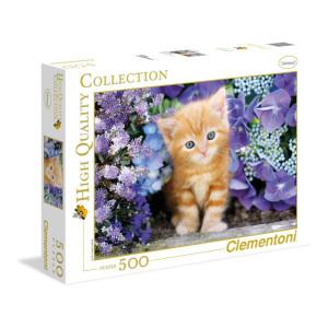 Clementoni Ginger Cat Pussel 500 bitar 30415