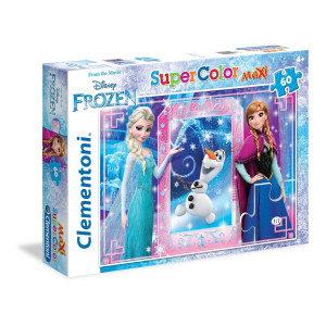 Clementoni Frozen Maxi Pussel 60 bitar 26411
