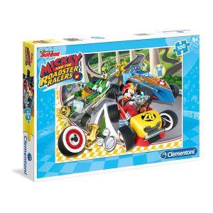 Clementoni Mickey and the Roadster Racers Pussel 100 bitar 0