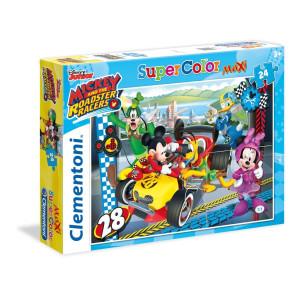 Clementoni Mickey Roadster Racers Maxi Pussel 24 bitar 24481