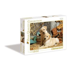 Clementoni Hunting Dogs Pussel 1500 bitar 31976