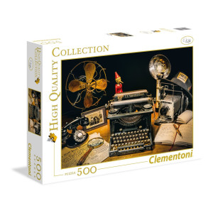 Clementoni The Typewriter Pussel 500 bitar 35040