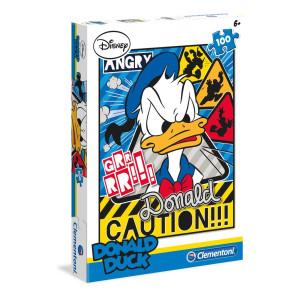 Clementoni Donald Duck Pussel 100 bitar 78287