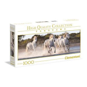 Clementoni Running Horses Panorama Pussel 1000 bitar 39441