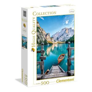 Clementoni Braies Lake Pussel 500 bitar 35039