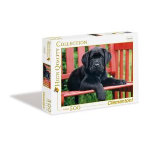 Clementoni The Black Dog Pussel 500 bitar 30346