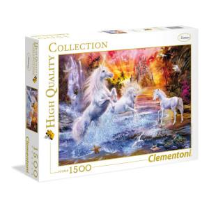 Clementoni Wild Unicorns Pussel 1500 bitar 31805