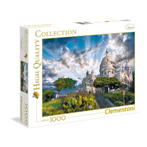 Clementoni Montmartre Pussel 1000 bitar 39383