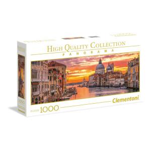 Clementoni The Grande Canale Venedig Panorama Pussel 1000 bi