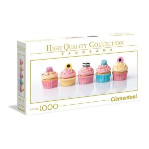Clementoni Liquorice Cupcakes Panorama Pussel 1000 bitar 394