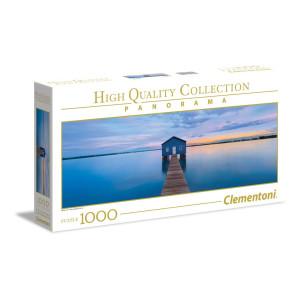 Clementoni Blue Calm Panorama Pussel 1000 bitar 39439