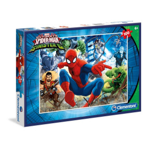 Clementoni Spiderman Pussel 100 bitar 07259