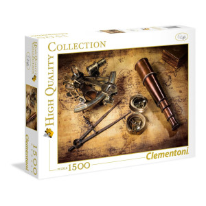Clementoni Course to the Treasure Pussel 1500 bitar 31808
