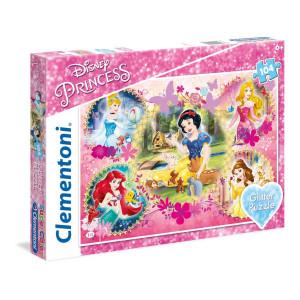 Clementoni Disney Princess Glitter Pussel 104 bitar 20134