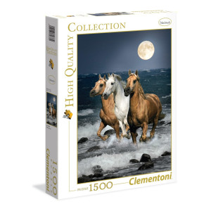 Clementoni Running Horses Pussel 1500 bitar 31676
