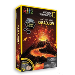 National Geographic Experiment Volcano Science Kit