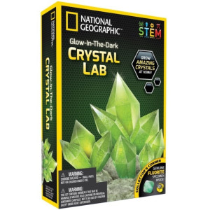 National Geographic Experiment Glow in the dark Crystal Lab