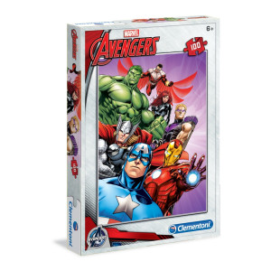 Clementoni Avengers Pussel 100 bitar 07244