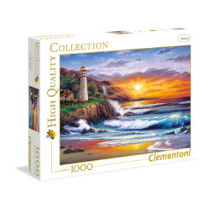 Clementoni Lighthouse at sunset Pussel 1000 bitar 39368