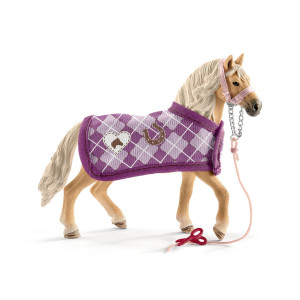 Schleich Sofias Modeset & Andalusian hingst 42431