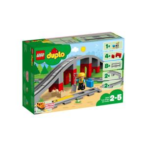 LEGO® DUPLO® Tågbro och spår 10872