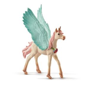 Schleich Bayala Smyckesenhörning Pegasus Föl 70575