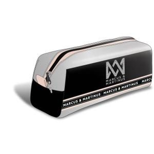 Marcus & Martinus Pennfodral Rektangulärt Silver Line