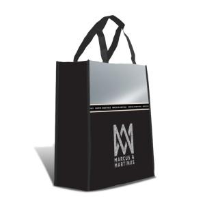 Marcus & Martinus Shoppingbag Silver Line