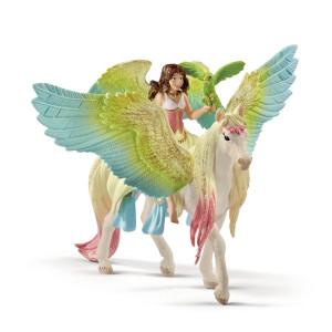 Schleich Bayala Surah med Glitterpegasus 70566