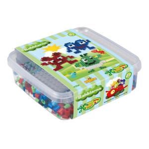 Hama Maxi Pärlor och pärlplatta i box Babblarna 8747