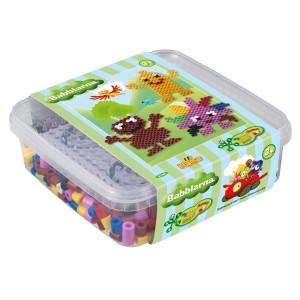 Hama Maxi Pärlor och pärlplatta i box Babblarna 8748