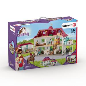 Schleich Stor Hästgård med bostadshus och stall 42416