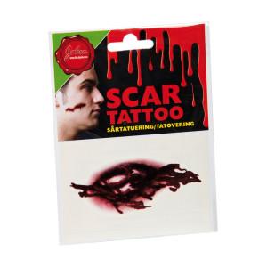 Tatuering Sår Köttsår