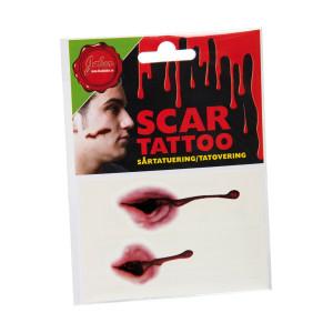Tatuering Sår Vampyrbett