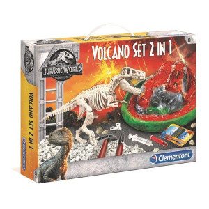 Clementoni Jurassic World Volcano set