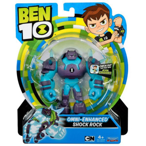 Ben 10 Figur Omni-Enhanced Shock Rock