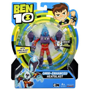 Ben 10 Figur Omni-Enhanced Heatblast