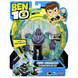 Ben 10 Figur Omni-Enhanced Diamondhead