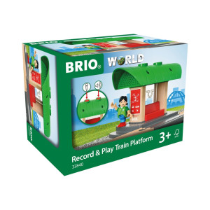 Brio Record & Play Tågstation