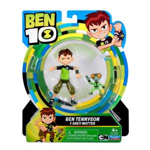 Ben 10 Figur Ben Tennyson & Grey Matter