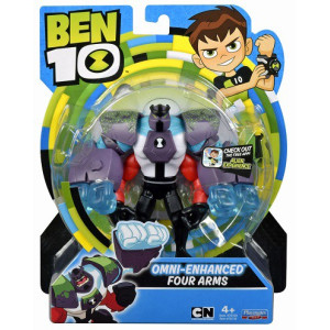 Ben 10 Figur Omni-Enhanced Four Arms