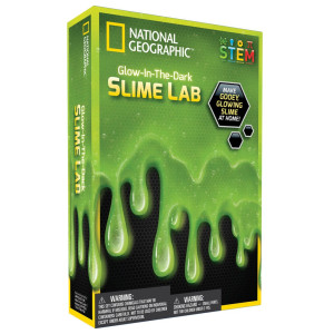 National Geographic Glow in the dark Slime Lab Grön