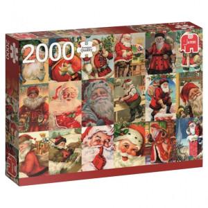 Vintage Santas Pussel 2000 bitar 18589