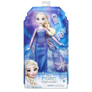 Frozen Northern Lights Elsa docka & Snowgies