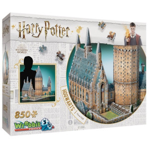 Harry Potter 3D Pussel Hogwarts Great Hall 850 bitar