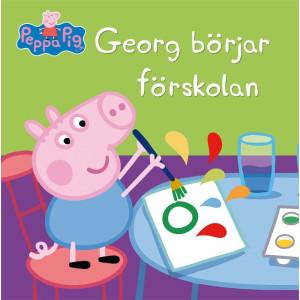 Greta Gris Georg börjar förskolan