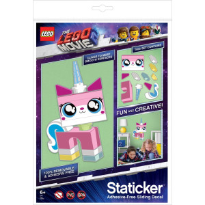 LEGO® Movie 2 Staticker Väggstickers Unikitty