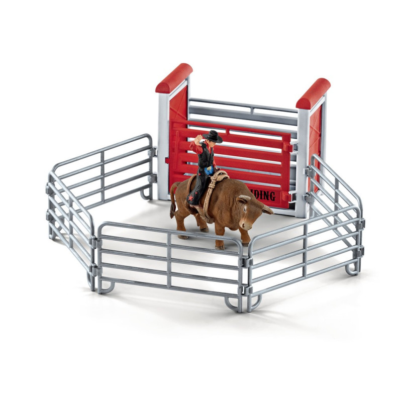 Schleich Tjurridning med cowboy 41419