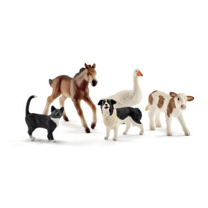 Schleich Farm World Djurblandning 42386